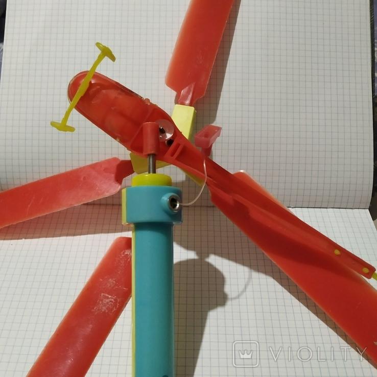 Популярная игрушка Вертолет 70г СССР, фото №4