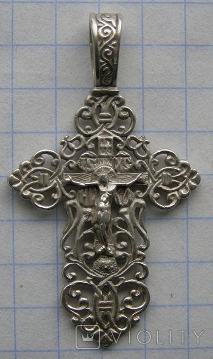 Крестик. Серебро 925 пр. Вес - 2,7 г., фото №3