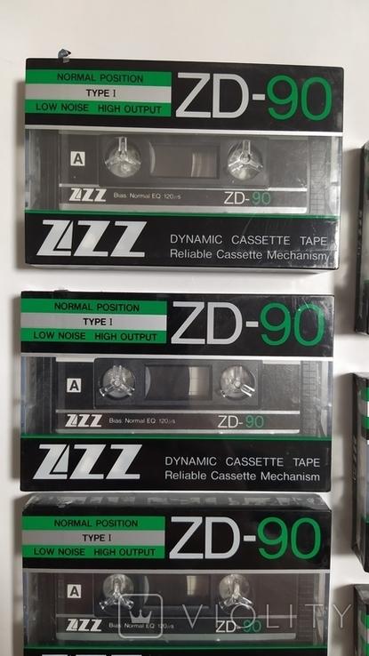 Кассеты ZZZ. 7 Штук, новые., фото №3