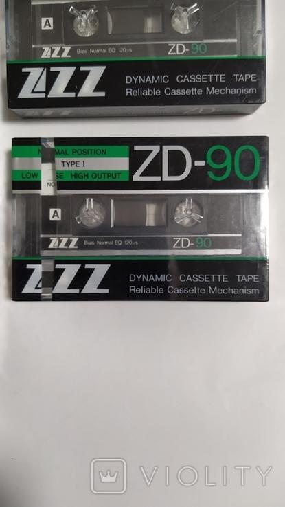Кассеты ZZZ. 7 Штук, новые., фото №6