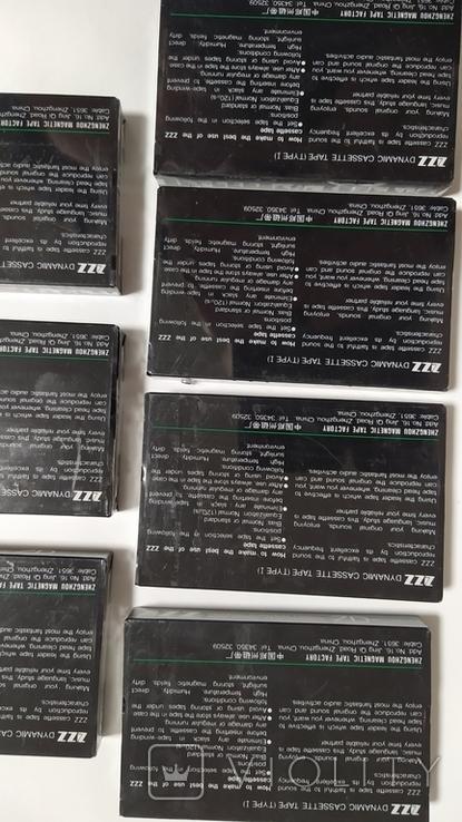Кассеты ZZZ. 7 Штук, новые., фото №8