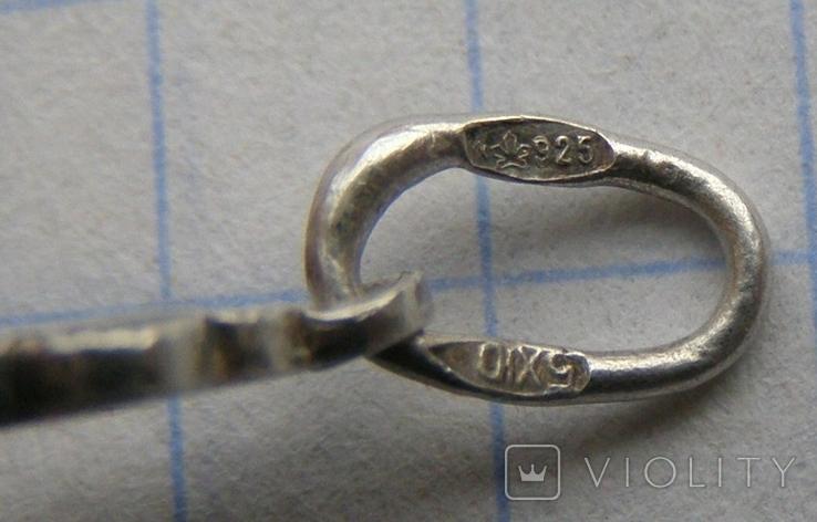 Крестик. Серебро 925 пр. Вес - 2,14 г., фото №5