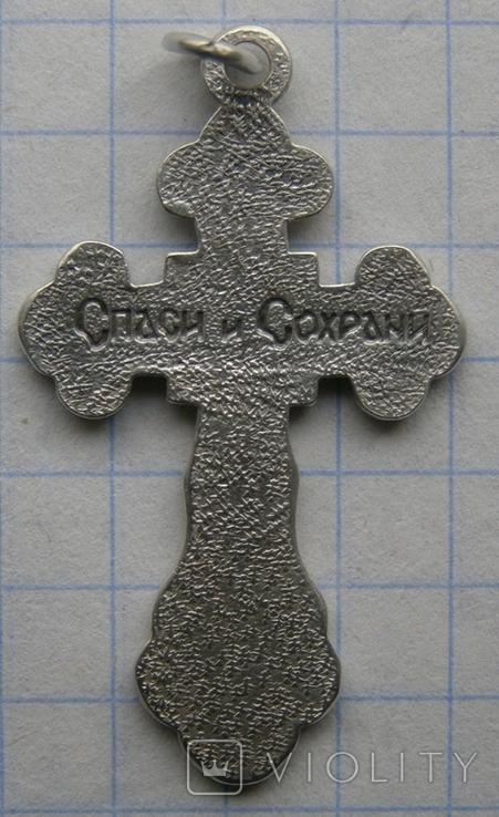 Крестик. Серебро 925 пр. Вес - 2,72 г., фото №4