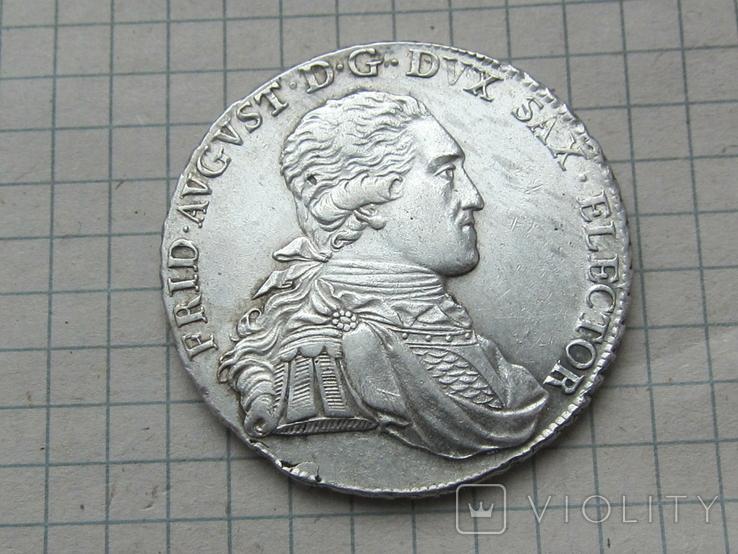 Талер 1794 Саксония, фото №2
