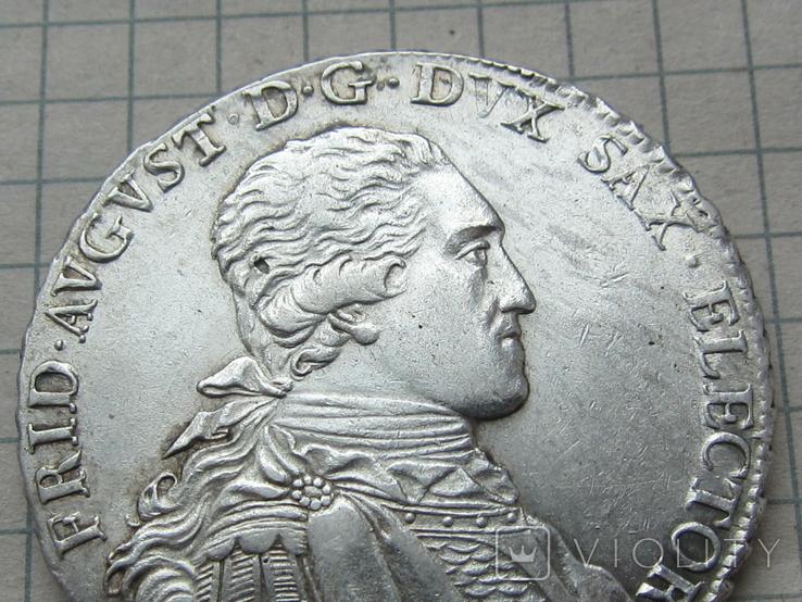 Талер 1794 Саксония, фото №4