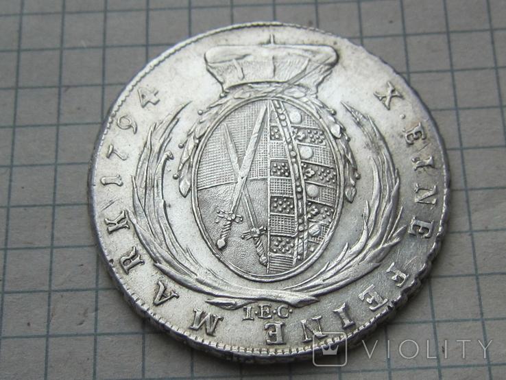 Талер 1794 Саксония, фото №6