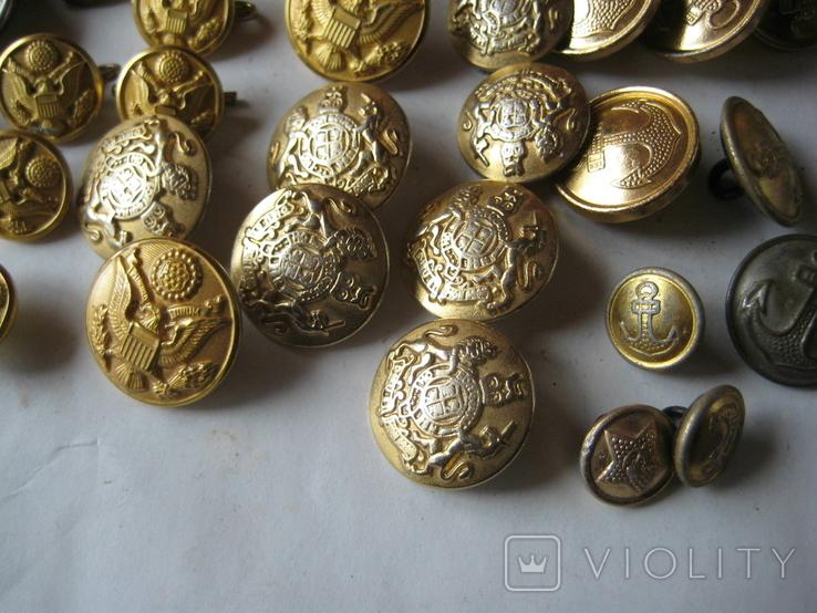Пуговици разные (56 шт.), фото №7