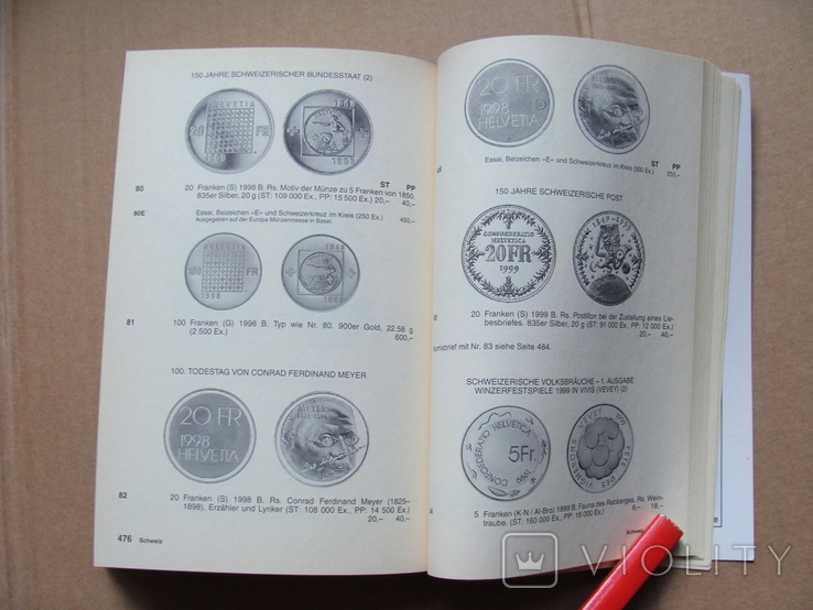 Kleiner deutscher Mnzkatalog 2002. Каталог немецких монет 2002 года 1, фото №12
