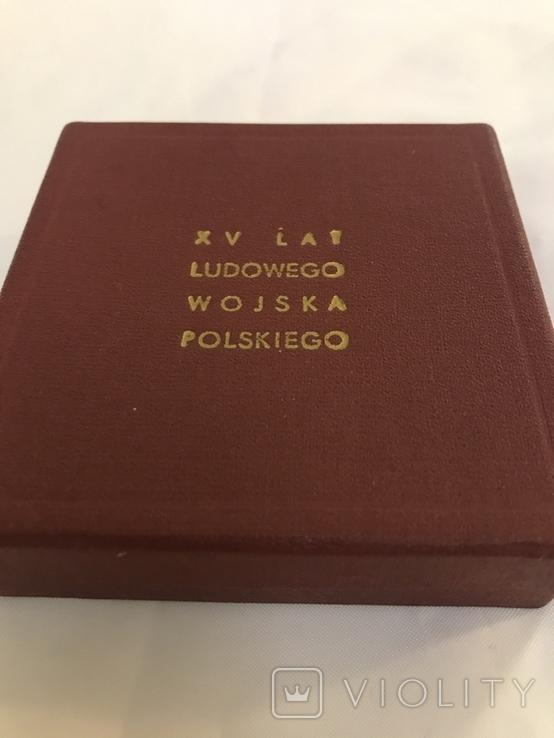 Настольная медаль 15 лет войска Польского, фото №6