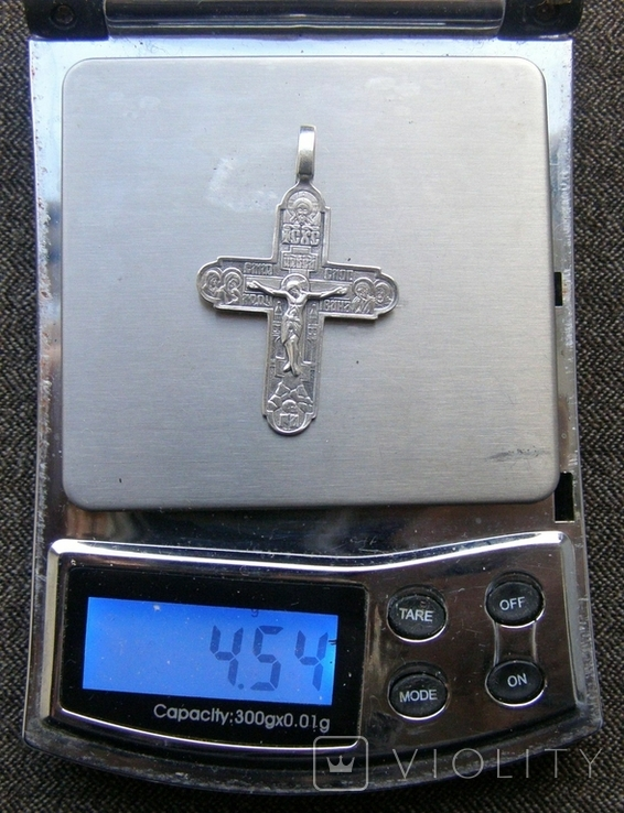 Крестик. Серебро 925 пр. Вес - 4,54 г., фото №2