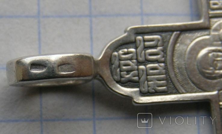 Крестик. Серебро 925 пр. Вес - 4,54 г., фото №5