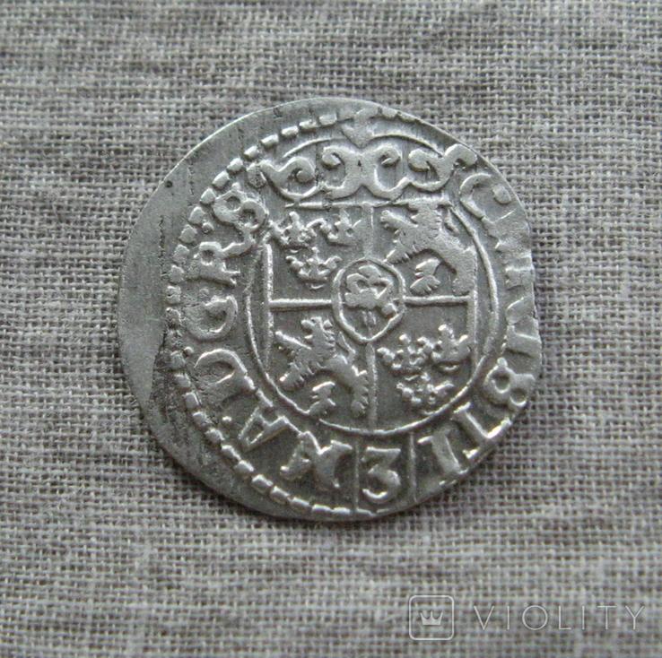 1/24 талера 1648 года. Кристина. Ливония., фото №3