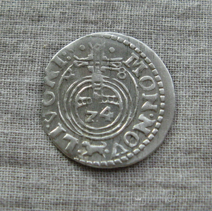 1/24 талера 1648 года. Кристина. Ливония., фото №4