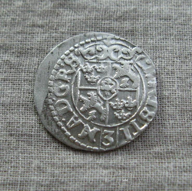 1/24 талера 1648 года. Кристина. Ливония., фото №5