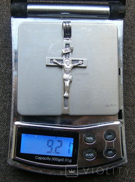 Крестик. Серебро 925 пр. Вес - 9,21 г., фото №2