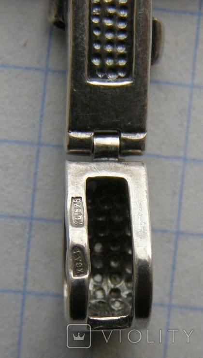 Крестик. Серебро 925 пр. Вес - 9,21 г., фото №5