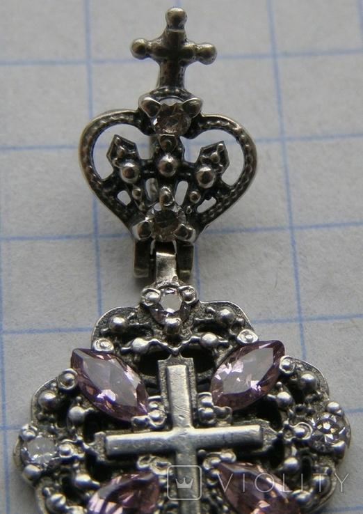 Крестик. Серебро 925 пр. Вес - 3,33 г., фото №4