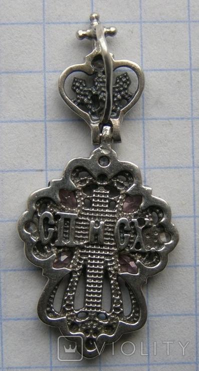 Крестик. Серебро 925 пр. Вес - 3,33 г., фото №5
