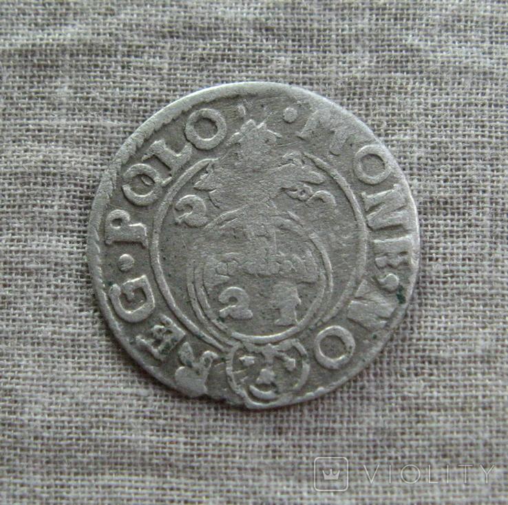 Полторак ( 1/24 талера ) 1622 года. Сиг. ІІІ Ваза. PO(O)LO, фото №2