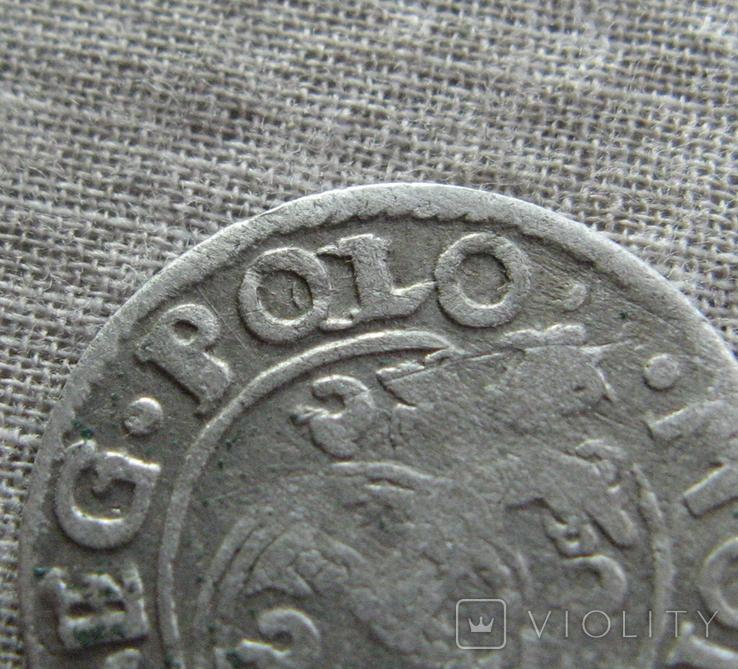 Полторак ( 1/24 талера ) 1622 года. Сиг. ІІІ Ваза. PO(O)LO, фото №3