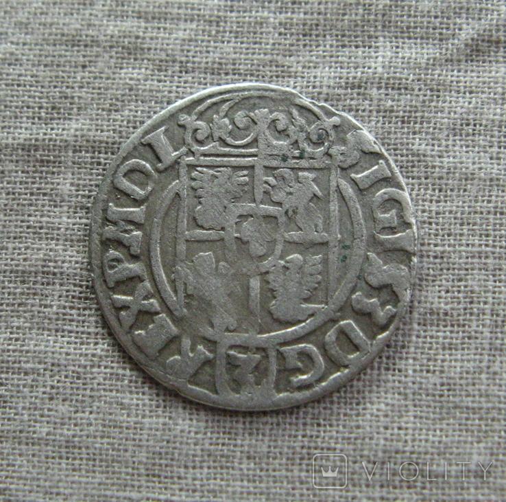 Полторак ( 1/24 талера ) 1622 года. Сиг. ІІІ Ваза. PO(O)LO, фото №4