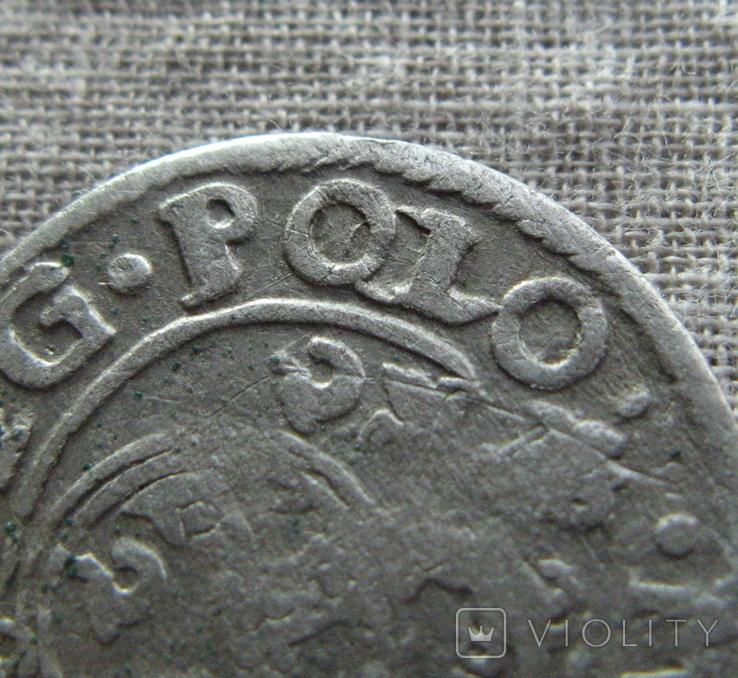 Полторак ( 1/24 талера ) 1622 года. Сиг. ІІІ Ваза. PO(O)LO, фото №5