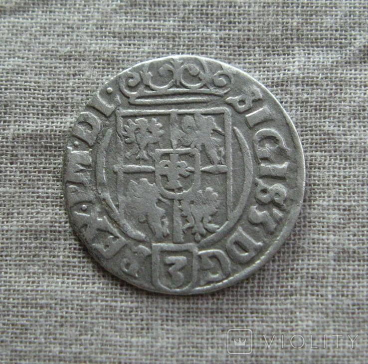 Полторак ( 1/24 талера ) 1626 года. Сиг. ІІІ Ваза., фото №4
