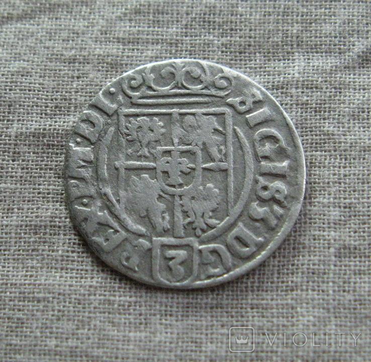 Полторак ( 1/24 талера ) 1626 года. Сиг. ІІІ Ваза., фото №5