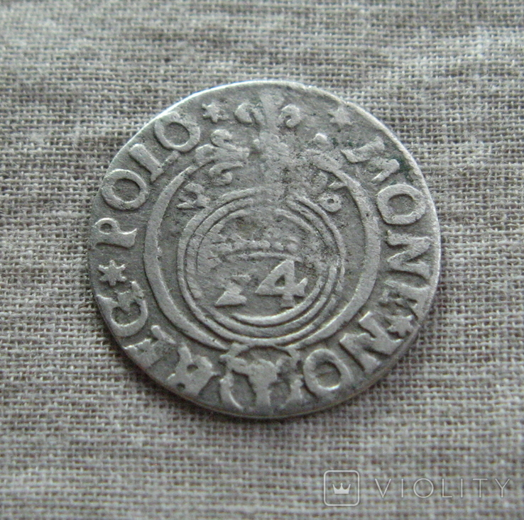 Полторак ( 1/24 талера ) 1626 года. Сиг. ІІІ Ваза., фото №6