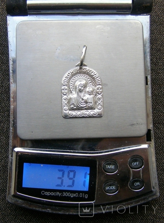 Кулон. Серебро 925 пр. Вес - 3,91 г., фото №2