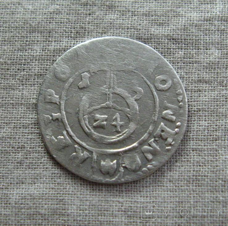 Полторак ( 1/24 талера ) 1615 года. Сиг. ІІІ Ваза., фото №2