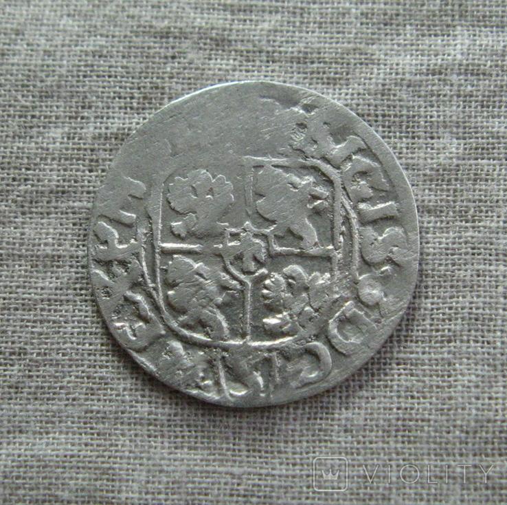 Полторак ( 1/24 талера ) 1615 года. Сиг. ІІІ Ваза., фото №3