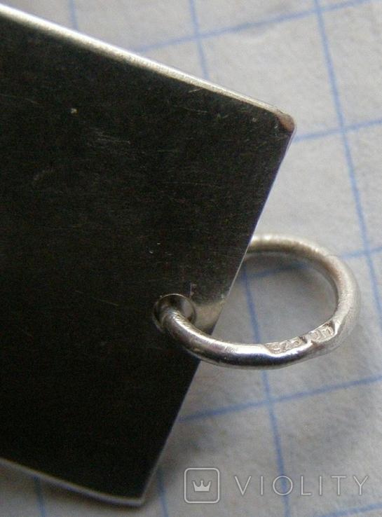 Кулон. Серебро 925 пр. Вес - 3,9 г., фото №5
