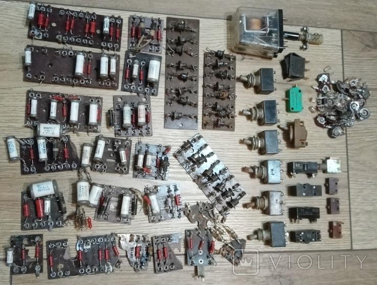 Різні радіодеталі, фото №2