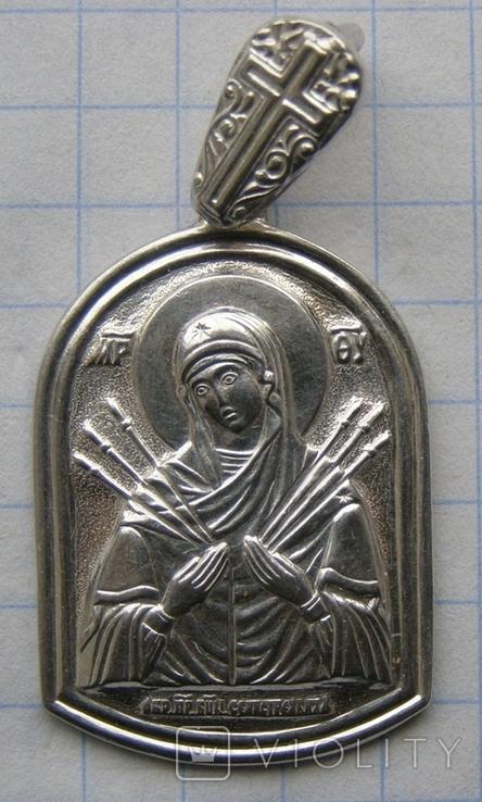 Кулон. Серебро 925 пр. Вес - 4,68 г., фото №3