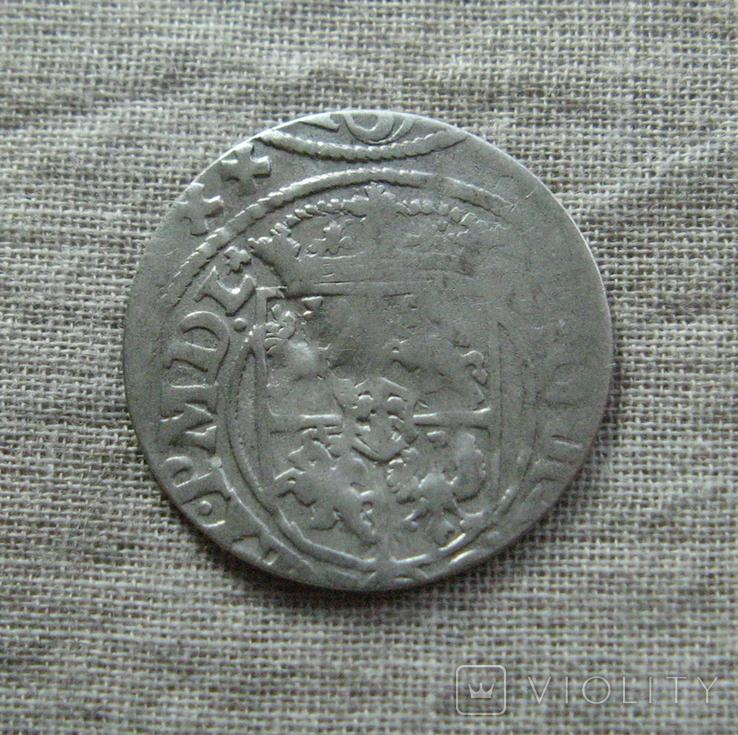 Полторак ( 1/24 талера ) 16Z0 года. Сиг. ІІІ Ваза. Рига., фото №3
