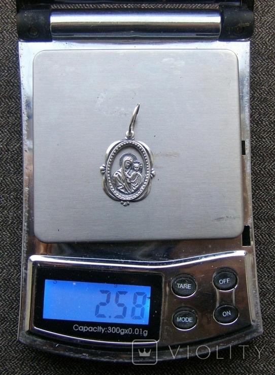 Кулон. Серебро 925 пр. Вес - 2,58 г., фото №2