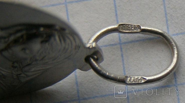 Кулон. Серебро 925 пр. Вес - 2,64 г., фото №5