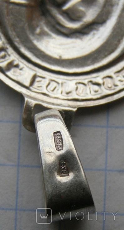 Кулон. Серебро 925 пр. Вес - 2,42 г., фото №5