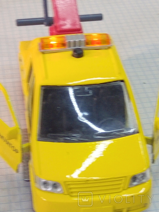 Маленькая моделька эвакуатор, фото №13