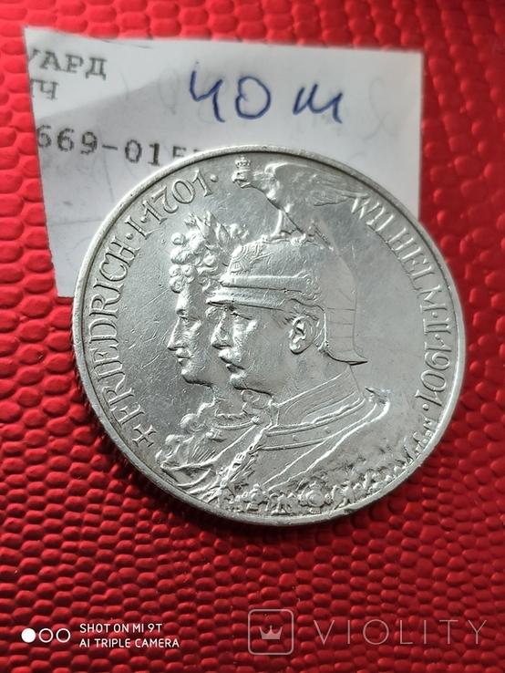 2 Марки 200л.Королевству Пруссии 1901г., фото №6