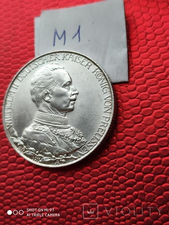 2 марки Пруссия Парадный мундир 1913г.690, фото №7