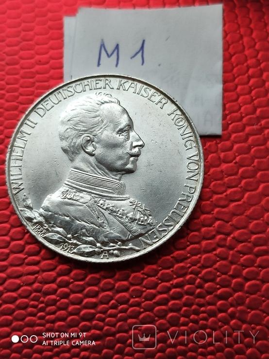2 марки Пруссия Парадный мундир 1913г.690, фото №2