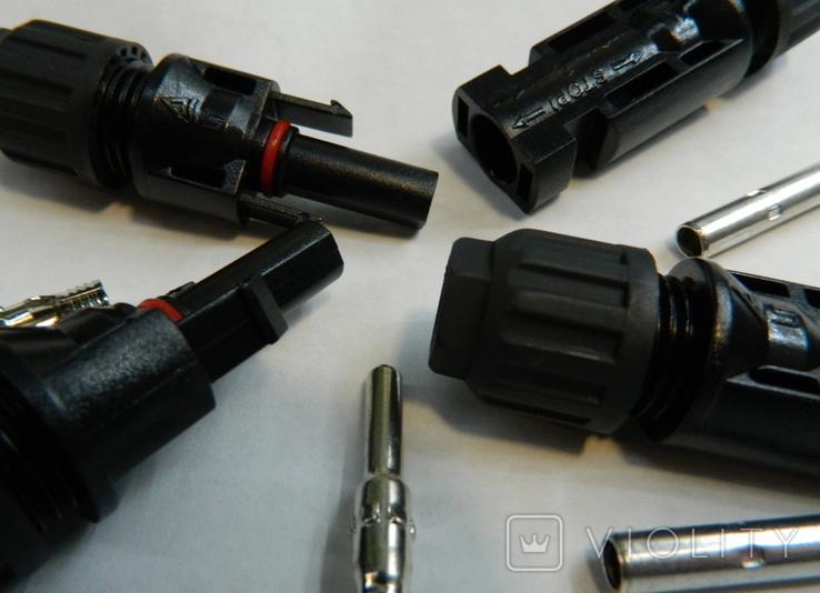 MC4 коннектор пара для солнечной батареи - 2 пары, фото №3