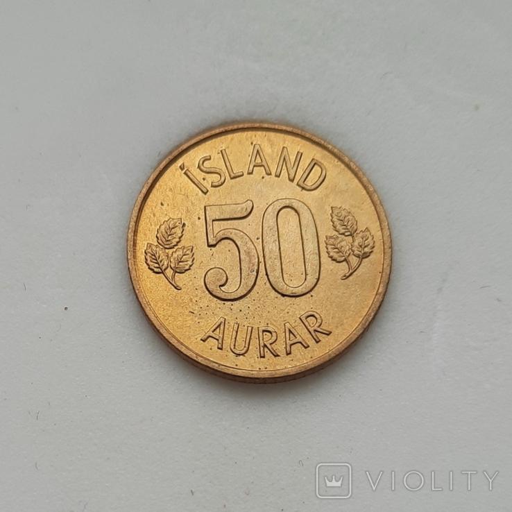 Ісландія 50 ейре 1974 року, фото №2