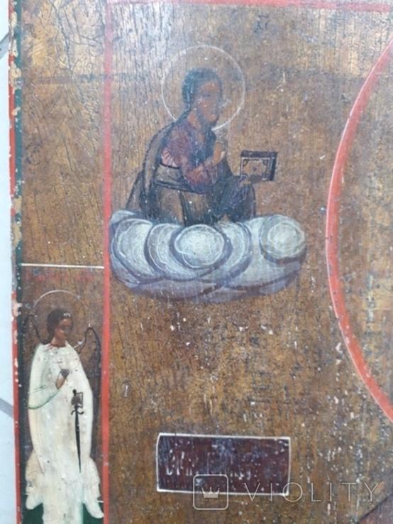 Икона Святой Николай 19век, фото №4
