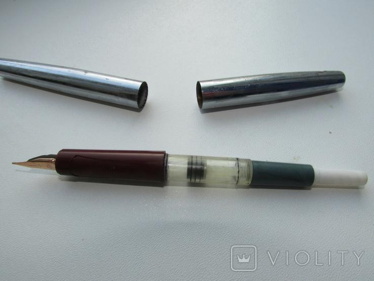 235. Ручка с золотым пером. СССР., фото №9