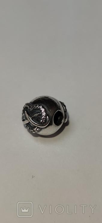 Шарм к браслету Пандора , серебро 925 лот 2, фото №4