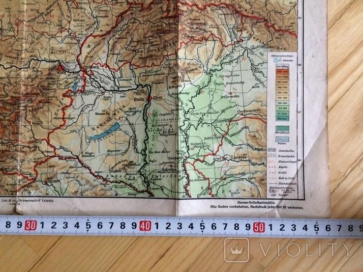 Карта Германии - 3 рейх, фото №7