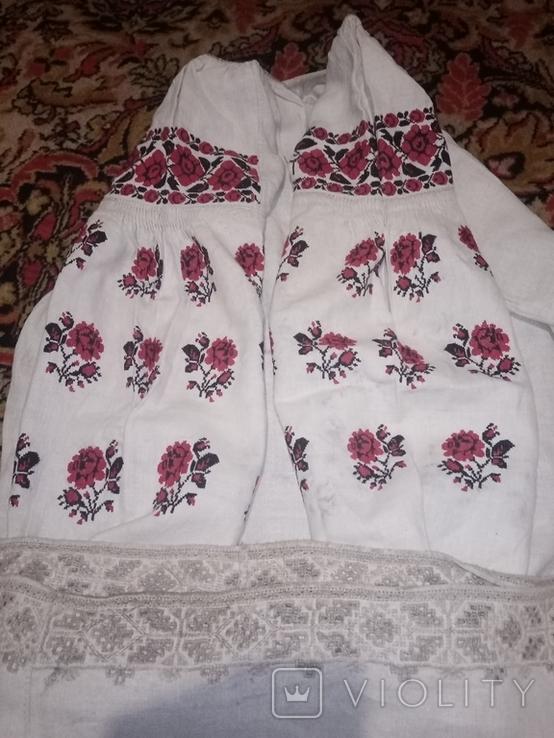 Сорочка вишета хрестиком, фото №2